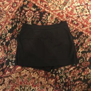 Zara Trafaluc black skort